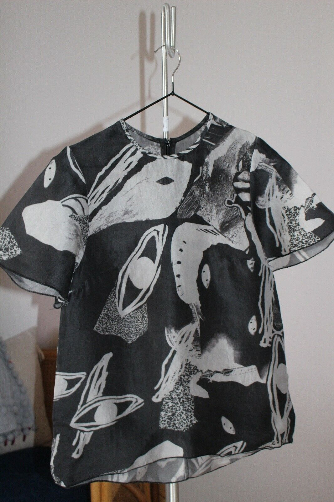 Ellery silk blouse Größe 8