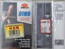 Dino  Te Lo Leggo Negli Occhi Mc Cassette Tape Sigillata