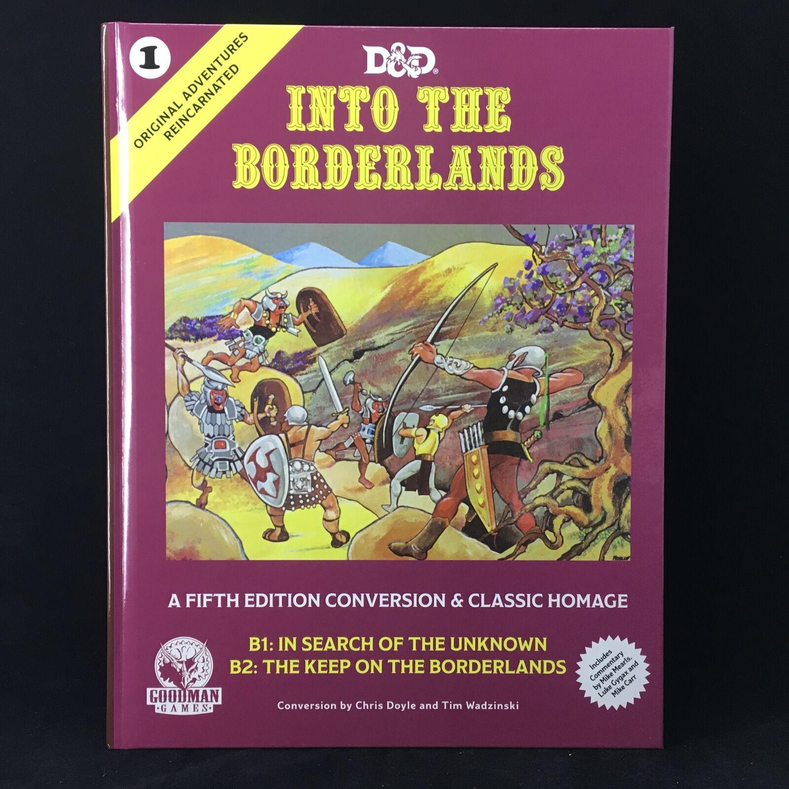 D&D 5E  Original Adventures Reincarnated   Into the Borderlands HC - Goodma...
