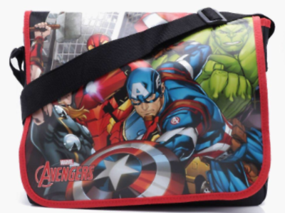 HIGH QUALITY CAPTAIN AMERICA COMICS DESPATCH MESSENGER SHOULDER TRAVEL BAG NEW