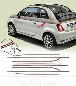 Adesivi-Fiat-500-sessantesimo-anniversario-strisce-adesive-500C-60tesimo-60