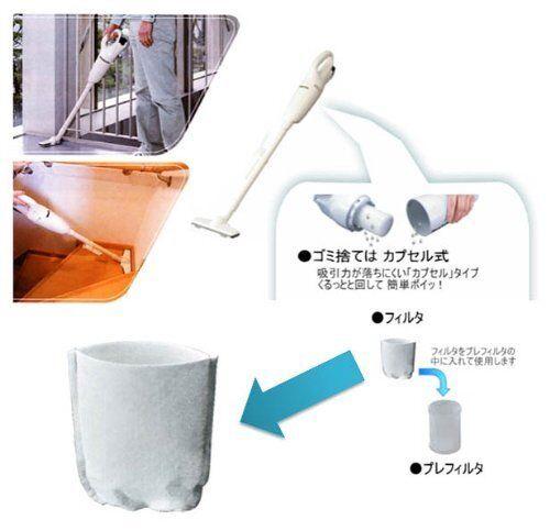 Makita Filter for Makita Vacuum Cleaner 10 pieces A-50728 New Japan