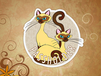 Disney Lady The Tramp Si And Am Siamese Cats Annual Passholder Fan Art Made Ebay