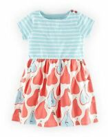Mini Boden girls baby hotchpotch jersey summer dress age 0 - 3 years  NEW