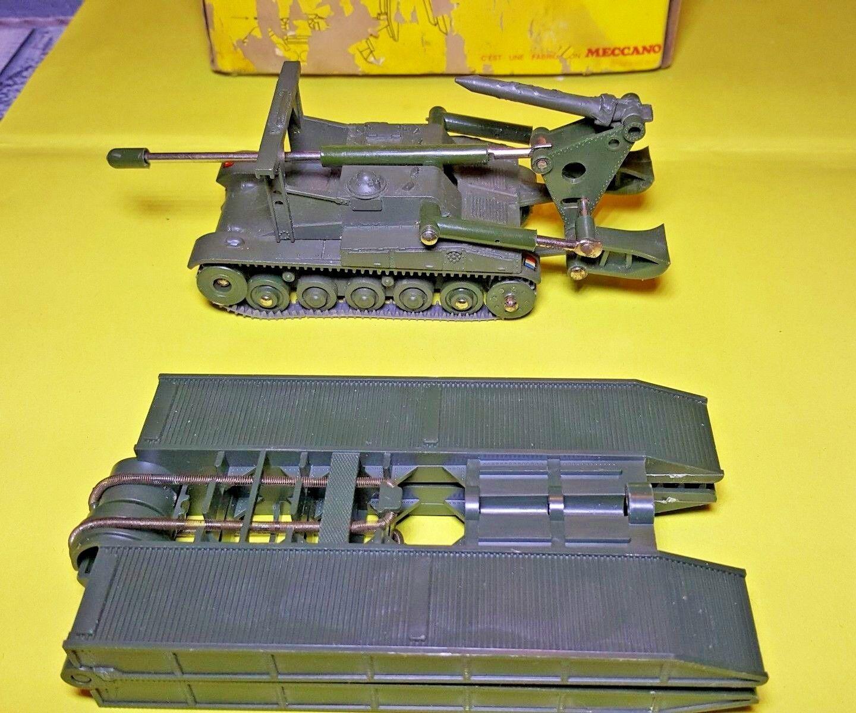 Dinky Toys 883a Char AMX Poseur de pont