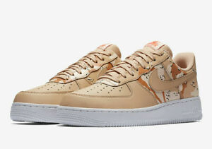 Details about New Nike Air Force 1 07 LV8 Bio Beige 823511 202 Men's Size 12.5