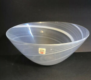 Holmegaard-Opalescent-Swirled-Glass-Bowl-Intact-Label-Swirl-Stripes