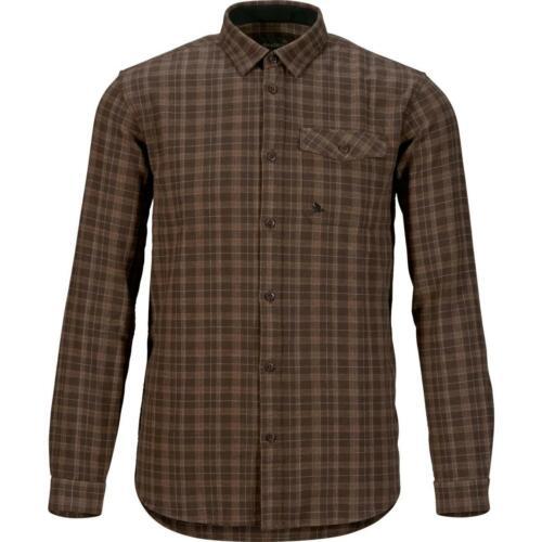 Lontra Seeland Stalk Camisa Marrom