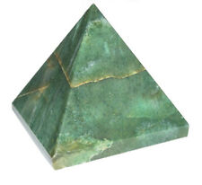 Set of 5 Serpentine Gemstone Pyramid Energy Generator For Reiki Healing 1 Inch