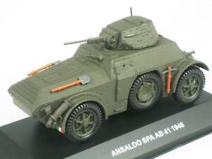 Image Is Loading ANSALDO AB 41 1946 CARABINIERI AUTOBLINDO ARMOURED CAR