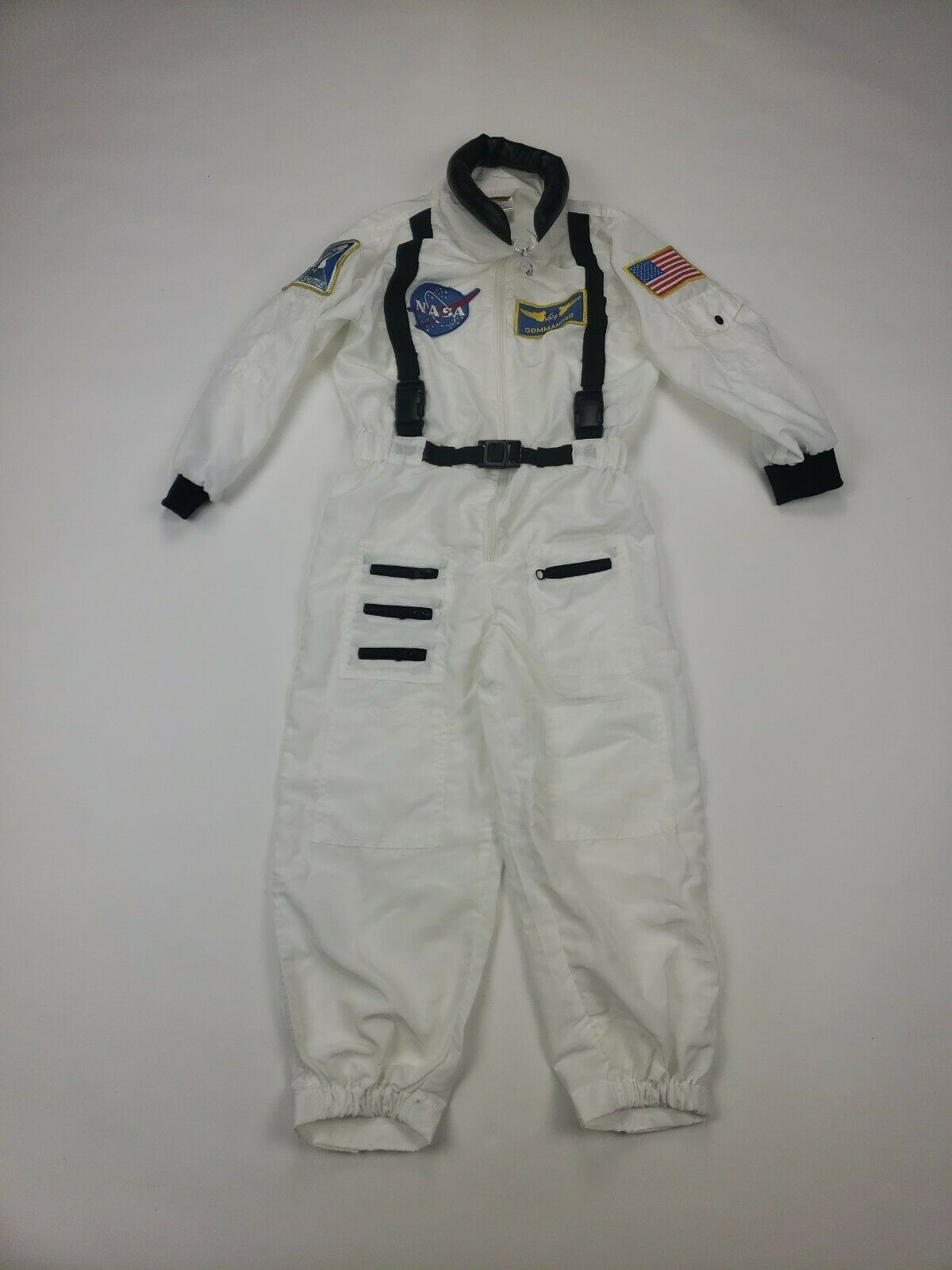 Get Real Gear NASA Explorer Astronaut Space Suit Costume Dress Up For Kids 6 - 8