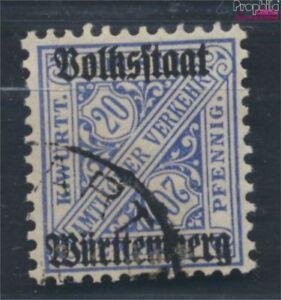 Wurttemberg-d264d-examinado-Devaluacion-Favor-usado-1919-digitos-en-sena-7899922