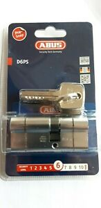 ABUS-D6PS-Break-Secure-High-Security-Cylinder-Lock-5-Keys-and-Keycode-Card