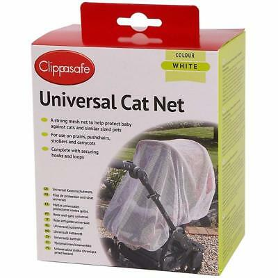 Clippasafe UNIVERSAL PRAM//CARRYCOT CAT NET Child//Baby//Kids Travel Safety BN