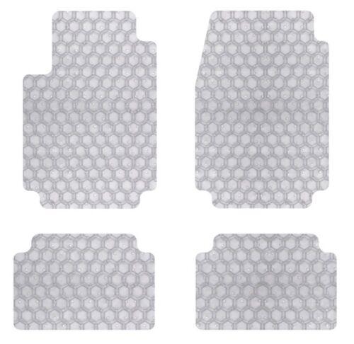 Intro-Tech Hexomat Car Floor Mats Carpet Front Rear For JAGUAR 17-17 XE