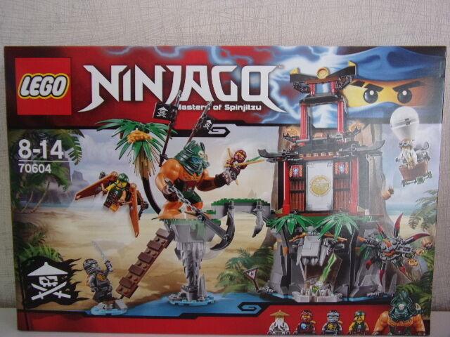 LEGO NINJAGO 70604 NEGROS ISLA DE LAS VIUDAS - NUEVO Y EMB. orig.