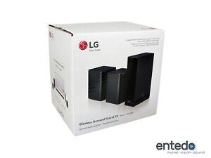 LG SPK8-S Wireless Rück Lautsprecher für SK10Y, SK9Y, 2019 SL Serie Schwarz KR