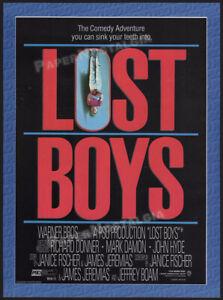 THE-LOST-BOYS-Orig-1986-Trade-print-AD-promo-Corey-Haim-Jason-Patric-1987