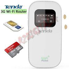 MODEM 3G TENDA 3G185 HOTSPOT SIM INTERNET USB CHIAVETTA UNIVERSALE PORTATILE 4G