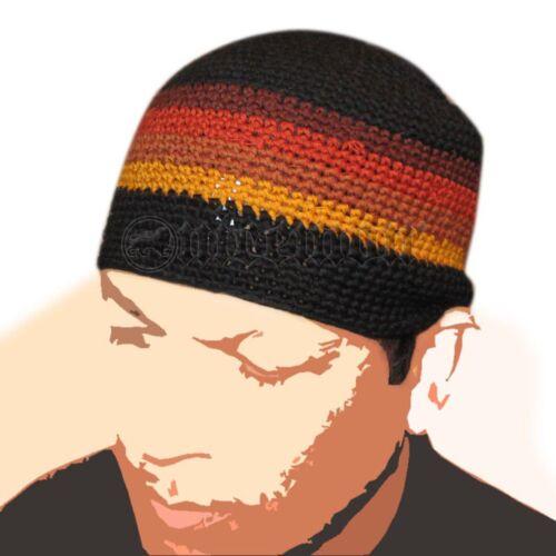 Skullcap Skull Cap Kufi Rasta Surfer Reggae Jamaica Handmade 100/% Cotton SM fit