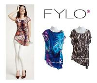 Fylo Blouse, Womens Stretch Shirts Tops, Flattering Fit