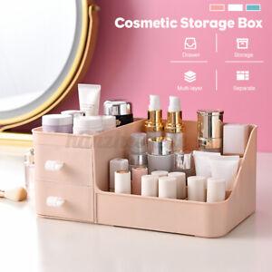 Desktop Makeup Storage Box Cosmetic Brush Pen Drawer Organizer Holde