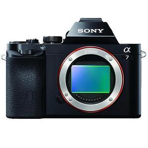 TELAIO-completo-Sony-A7-mirrorless-3-034-LCD-Compatto-Sistema-Fotocamera-24-3-MP-solo-corpo
