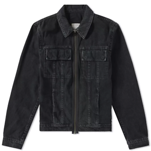 e7988e0dc603ee Helmut Lang x Travis Scott Smoke Patch Denim Jacket Washed Black sz ...