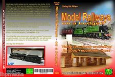 MODEL RAILWAYS ON A BUDGET DVD -  SERVICING, CONVERSION, BUILDING LHP O2B006