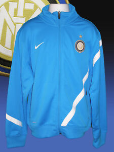 3f1a6430ce1d2 NIKE Boys Girls Inter Milan Football Club Tracksuit Jacket Large Age ...