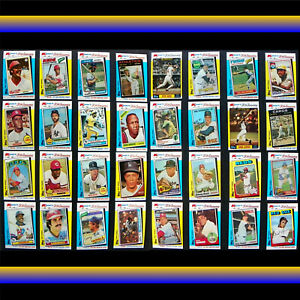 MVP Baseball Card Lot, Munson, Stargell, Aaron, Bench, Robinson, Blue, Rose, Yaz