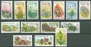 BRITISH-FALKLAND-ISLANDS-Yvert-160-173-Complete-Set-MNH