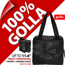 New Golla Tablet Netbook Bag Padded Carry Case With Handbag Straps Fits 11.6""