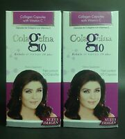 2 Pk Colageina 10 Colageno 60 Caps C/u / Hydrolyzed Collagen Caps