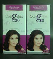 2 Pk Colageina 60 Caps Ea Hydrolyzed Collagen / Colageina Capsulas Colageno