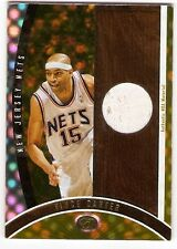VINCE CARTER GOLD JERSEY SN #/25 2006-07 BOWMAN ELEVATION EXECUTIVE LEVEL RELIC