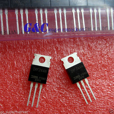 20PCS IRFZ44N IR TO-220 N-Channel 49A 55V Transistor MOSFET NEW GOOD QUALITY T6