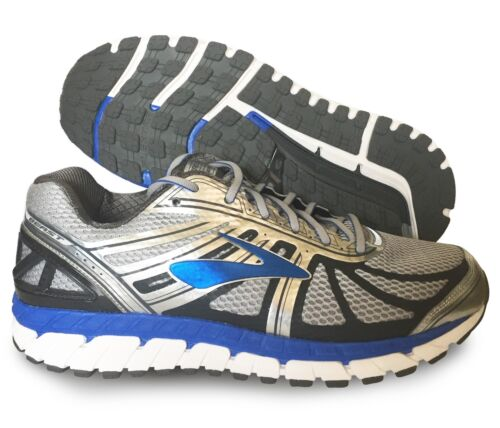 Brooks Beast 16 Mens Shoe Silver//Blue//Ebony multiple sizes New In Box