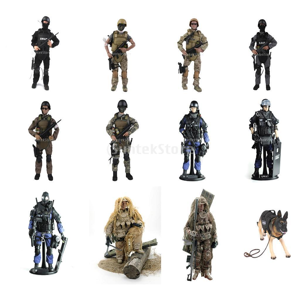 1/6 Scale SWAT Soldiers 12