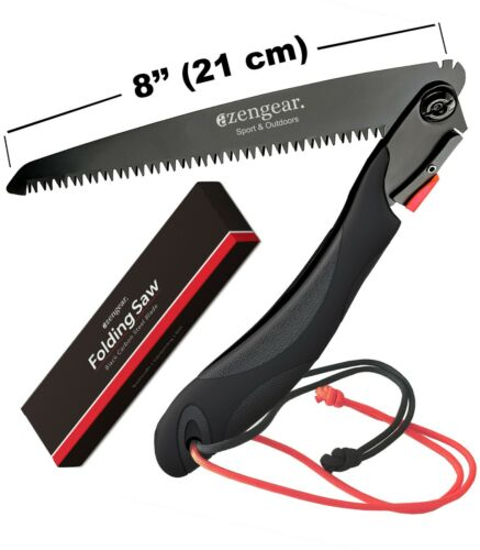 Outdoor Garden DIY Paracord Folding Camping Pruning Hand Saw for Bushcraft