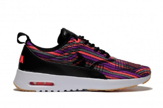Verkauf Schwarz Nike Damen Air Max Thea Premium Sneakers