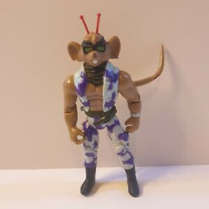 Biker-Mice-From-Mars-Tail-Whippin-039-Throttle-Toy-Action-Figure-Galoob-1994-retro