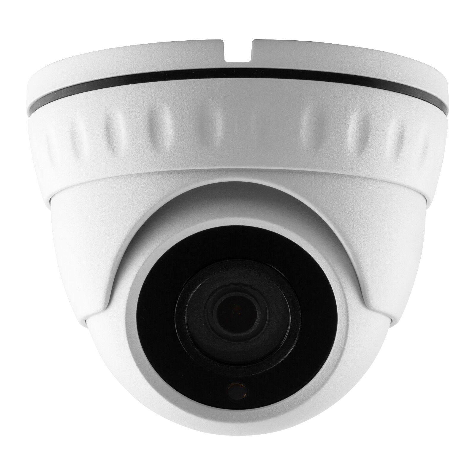 2MP 1080p 20Metre Ir 3.6mm 360 Audio IP Angular Acceso Web Cámara CCTV Domo