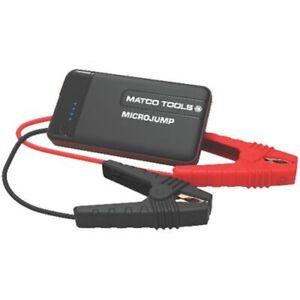 MATCO TOOLS MICROJUMP Portable Emergency Battery Jump Starter & Power Bank