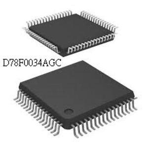 NEC D78F0034AGC QFP64 8-BIT SINGLE-CHIP MICROCONTROLLER Chip