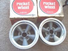 Vintage 1960s 1970s NOS Rocket RPM Pontiac Special 5 bolt mag wheels torq thrust