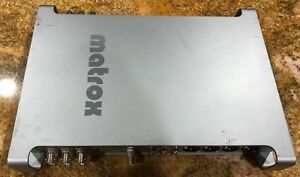 Matrox Mx02 Portable Hd/sd Capture Device Untested Selling As Is Convient Aux Hommes Et Aux Femmes De Tous âGes En Toutes Saisons