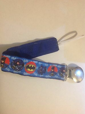Baby Boy Girl Pacifier Clip Holder Ribbon Leash Kansas City Chiefs Football
