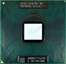 CPU Intel Dual Core DUO Mobile T6670 2.20/2M/800 SLGLK processore 800mhz 478