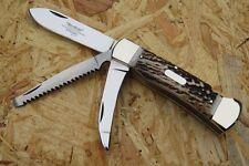 Hartkopf Solingen Taschenmesser Jagd Messer Jagdmesser Hirschhorn 324411